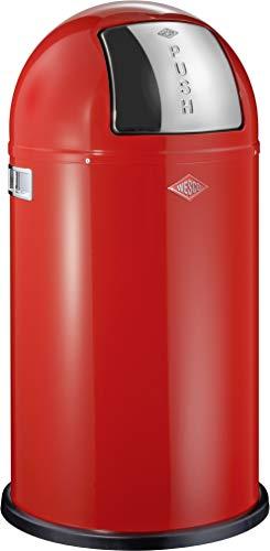 Wesco 175 831 Pushboy Abfallsammler 50 Liter rot
