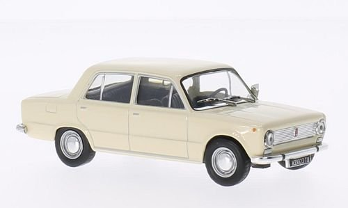 Fiat 124, beige, 1968, modello di automobile, modello prefabbricato, SpecialC.-61 1:43 Modello esclusivamente Da Collezione