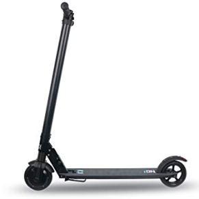 ION Scooter Eléctrico Tech, Adultos Unisex, Negro, Ruedas de 6,5