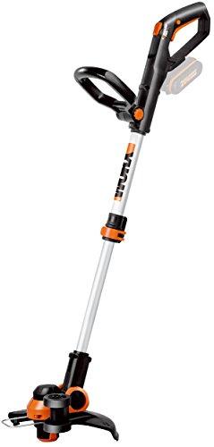 Worx WG163E.9 Decespugliatore Tagliabordi a Batteria, Diametro di Taglio 30 cm, 1 Filo 1,65 mm, 20 V - Solo Corpo Macchina senza batteria e caricabatteria