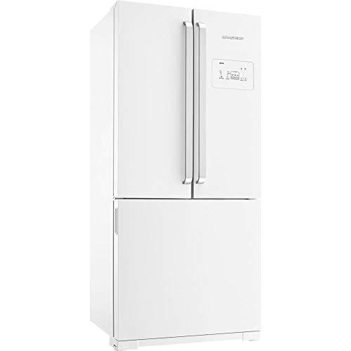Geladeira Brastemp Frost Free Side Inverse 540 litros Branca com Ice Maker - 110V