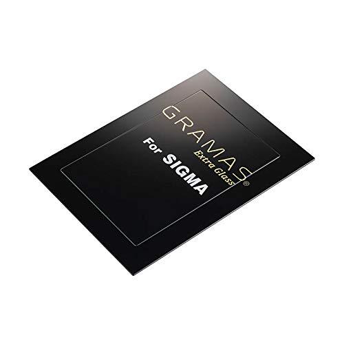 銀一×GRAMAS 液晶保護フィルム シグマ SIGMA デジタルカメラ SIGMA DCG-SG01 専用 表面硬度9H 高透明度 防汚コーティング ジャストサイズ 実機採寸 耐衝撃性能 耐指紋/皮脂