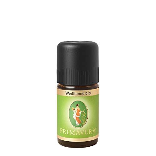 PRIMAVERA Ätherisches Öl Weißtanne bio 5 ml - Aromaöl, Duftöl, Aromatherapie - energiespendend, stärkend - vegan