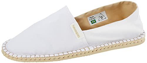 Havaianas Espadrille Eco Alpargatas Hombres Blanco - 41 - Alpargatas Shoes