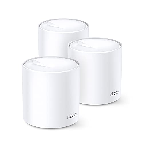TP-Link Deco X60 Whole Home Mesh Wi-Fi System, AX3000 Wireless WiFi 6 Speeds Up to 3000Mbps, Work...