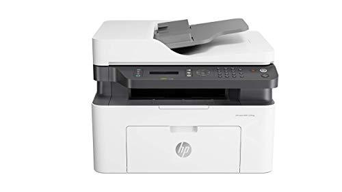 HP Laser MFP 137fnw Stampante Laser Multifunzione Monocromatica, Stampa, Scannerizza, Fotocopia,...