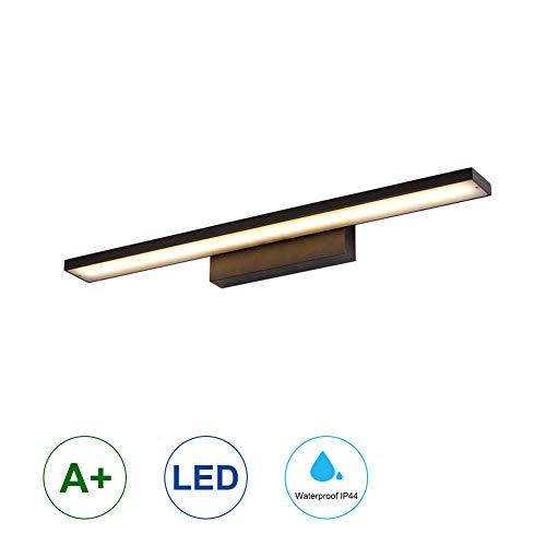 K-Bright 12W LED-Bilderleuchte, Spiegel Wandleuchte, 61cm 720LM LED-Wandleuchte, schwarz, warmweiß