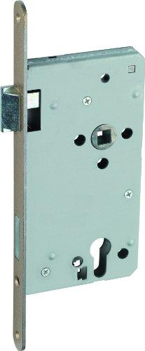 ABUS Tür-Einsteckschloss Profilzylinder THZ90 HG L hammerschlaggold für DIN-links Türen 20818