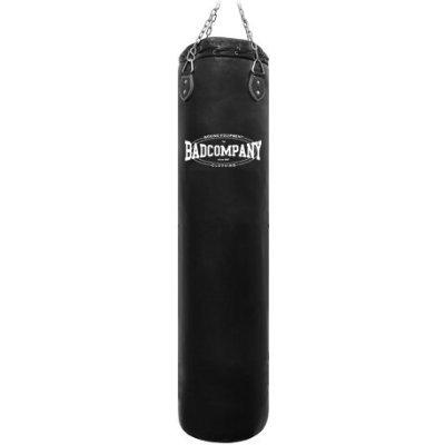 Bad Company Boxsack inkl. Heavy Duty Vierpunkt-Stahlkette I Vinyl Punching Bag, gefüllt I 80 x 35 cm -...
