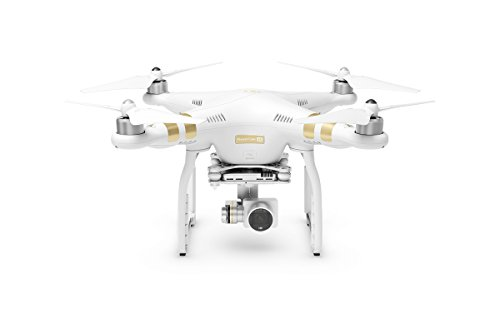 DJI Drone Phantom 3 4K con Videocamera 12 MP/4K, Bianco