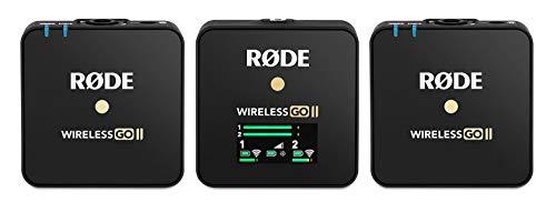 Rode Microphones radiomicrofono per telecamera WIRELESS GO II doppio canale nero