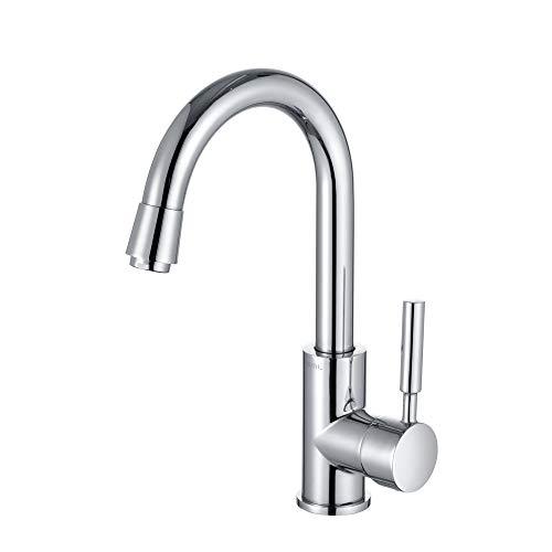 Umi. by Amazon - Wasserhahn 360° drehbar Armatur Bad Einhebel Mischbatterie Waschbeckenarmatur und Spültischarmatur