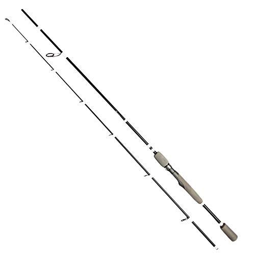 FISHN Predator Light Angelrute 1,98m, 15-45g - Angelrute –Spinnrute –Steckrute – direkte Kraftübertragung beim Angeln auf Hecht, Zander, Barsch, Forelle, Saibling