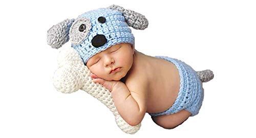 Newborn Baby Girl/Boy Crochet Knit Costume Photography Prop Hats...