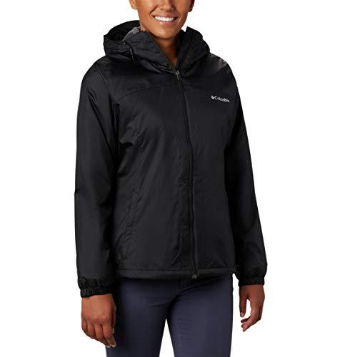 Columbia Women's Switchback Sherpa Lined Jacket, Black, Medium