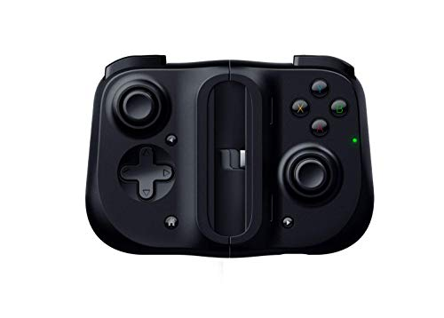 Razer Kishi para Android - Controlador de juegos para teléfonos inteligentes, conexión USB-C, diseño ergonómico, ajuste individual para teléfonos móviles, dispositivo analógico, latencia baja, Negro