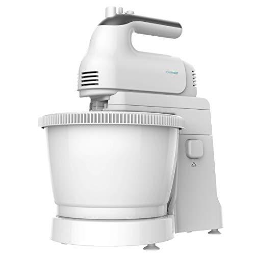 Cecotec Stand-Mixer PowerTwist 500 Gyro - Leistung von 500 W, 5 Geschwindigkeiten inclusive Turbo, 3 Zubehöre, BPA-frei, 3,5 L- Schüssel