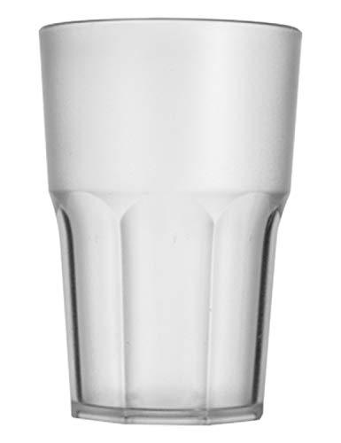 Garnet Satinato Bicchiere Riutilizzabile Granity 40 Set da 6 Pezzi  Lavabile in lavastoviglie-40...