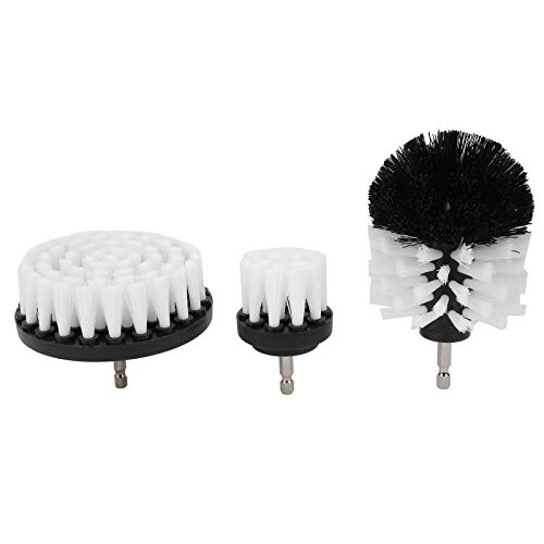 3Pcs Drill Brush Set Power Scrubber Cleaning Accessories for...