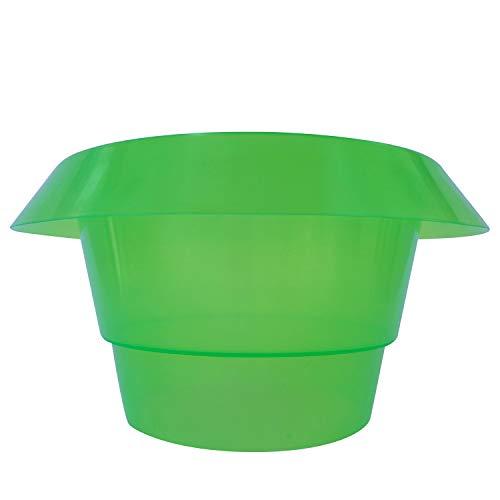 Robuster Schneckenschutzring - 3stk,5stk,10stk - Schützen Sie Salat , Tomaten und Jungpflanze in Ihrem Garten - Schutzring in grün für optimalen Pflanzenschutz - Schneckenabwehr aus Kunststoff