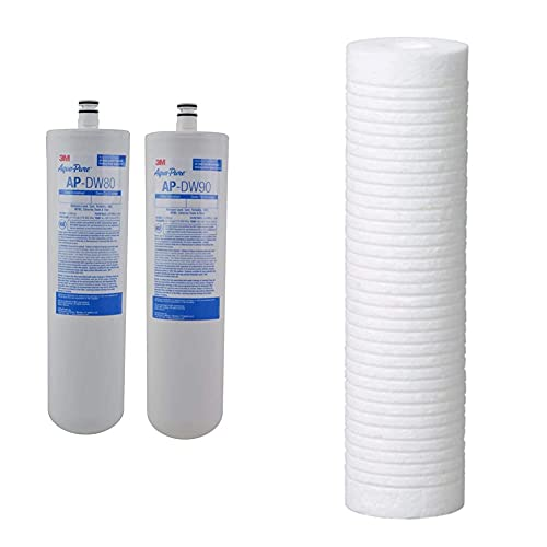3M Aqua-Pure Under Sink Replacement Water Filter AP-DW80/90,...