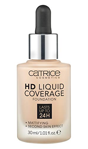 Product Image 1: Catrice | HD Liquid Coverage Foundation | High & Natural Coverage | Vegan & Cruelty Free (020 | Rose Beige)