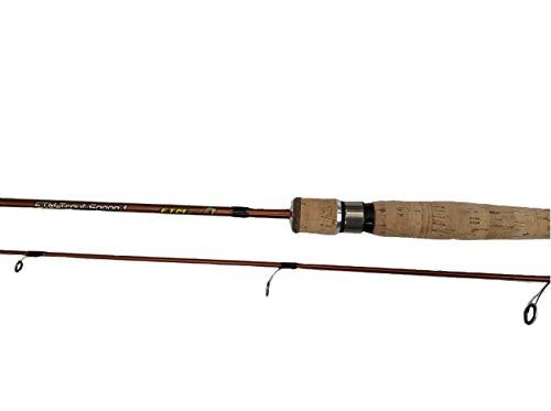 FTM Forellenrute Trout Spoon 1 - Steckrute zum Forellenangeln oder Ultra Light Angeln - Länge 1,81m -WG: 1-5,5 gr.