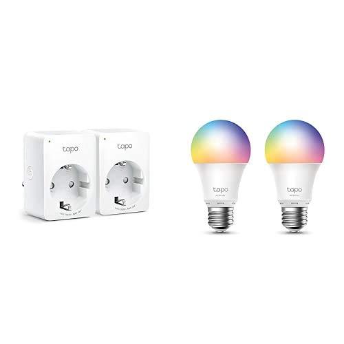 Tapo TP-Link - Bombilla LED Inteligente + Enchufe Inteligente 2990 W