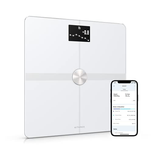 Withings Body+ Báscula inteligente con conexión Wi-Fi, medición de...