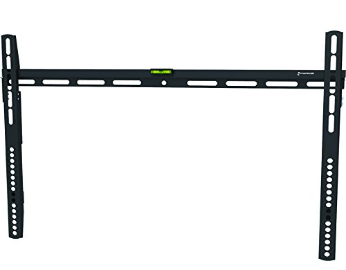GForce Fixed TV Wall Mount Bracket, Super Flat - Fixed Position, Fits Most 40,43,50,55,60,65,70 Inch LED, LCD and Plasma Flat Screen TVs -Low Profile - 88LBS Weight Capacity-VESA Compatible