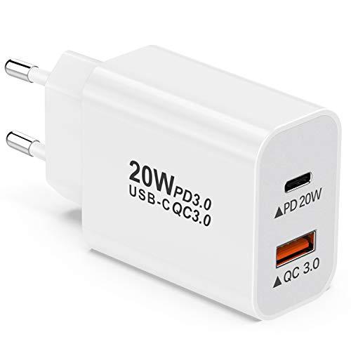 YEONPHOM 20W Caricatore USB C da Muro,PD Power...