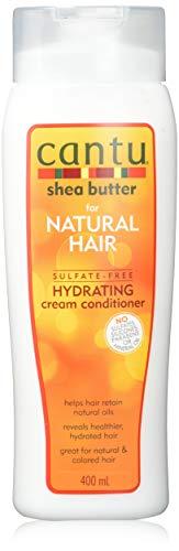 Cantu – Feuchtigkeitsspendende Spülung mit Sheabutter – Sulfatfreie Pflege-Spülung für Locken und strukturiertes Haar – 1er Pack (1 x 400ml)