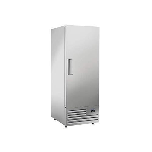 Armadio congelatore in acciaio inox, 600 litri, Cool Head R290, 1 anta piena
