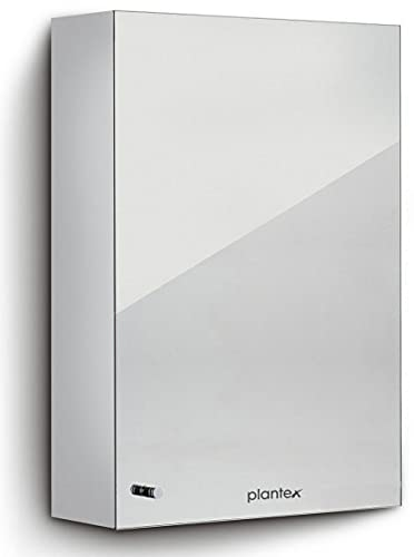 Plantex Platinum 304 Stainless Steel Bathroom Mirror Cabinet/Bathroom Accessories (12 x 18 Inches)