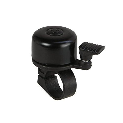 FISCHER Mini Fahrradglocke, schwarz, One Size