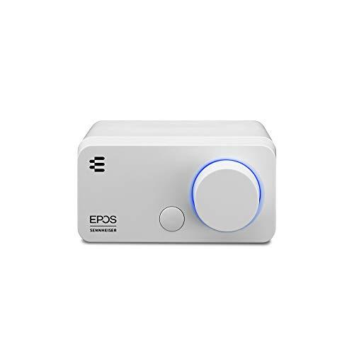 【Amazon.co.jp限定】EPOS/ゼンハイザー ゲーミング&PC用オーディオアンプ GSX 300 Snow(白)【国内正規品】