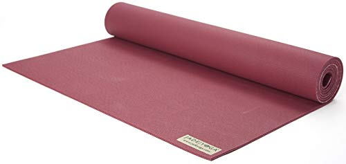 Jade Yoga Harmony Yoga Mat - Yoga Mat Designed to Provide A Secure Grip to Help Hold Your Pose (3/16' Thick x 24' Wide x 68' Long - Color: Raspberry)