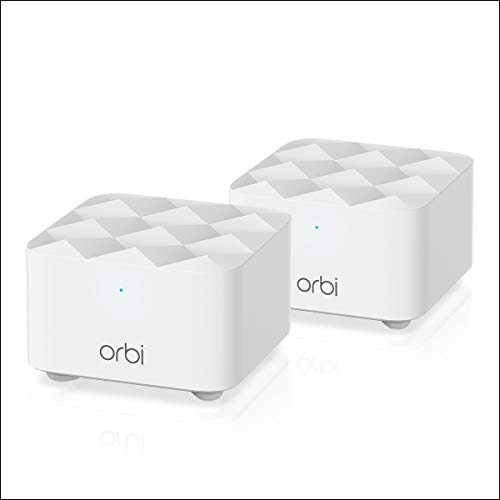 NETGEAR Orbi Whole Home Mesh Wi-Fi Network System - Eliminate WiFi Dead Zones and Enhance Speeds...