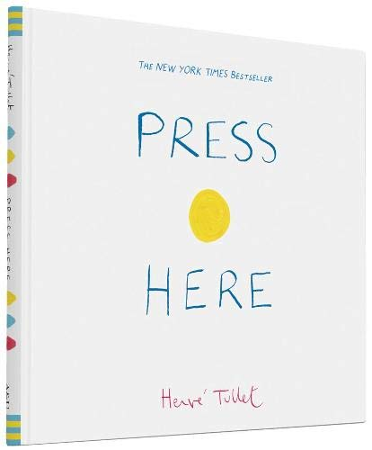 Press Here (Interactive Book for Toddlers and Kids,...