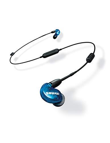 SHURE ワイヤレスイヤホン BT1シリーズ SE215 Special Edition Bluetooth カナル型 高遮音性 トランスルーセントブルー SE215SPE-B-BT1-A 【国内正規品】