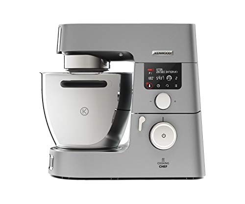 Kenwood KCC9060S Cooking Chef Gourmet, 1500 W, 6.7 Litri, Argento