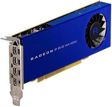 amd technologies Inc 100-506008 Radeon Pro WX4100 Grafikkarte (4 GB GDDR5, PCIe 3.0 x16, 4 x Mini DisplayPort, refurbished)