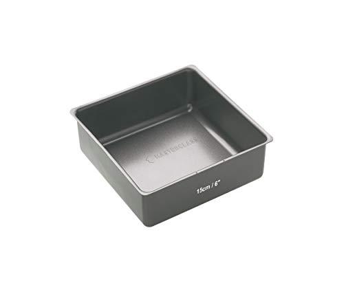 Kitchen Craft Molde con Base Suelta, Acero, Gris, 16.3x20.4x