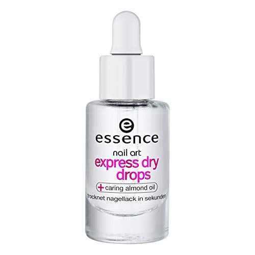 essence | Nail Art Express Dry Drops | Fast-drying Formula with Vitamin E and Almond Oil