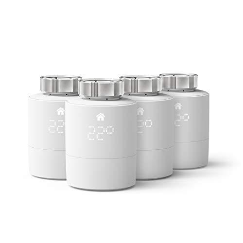 tado° Cabezal Termostático Inteligente - Pack Quattro,...