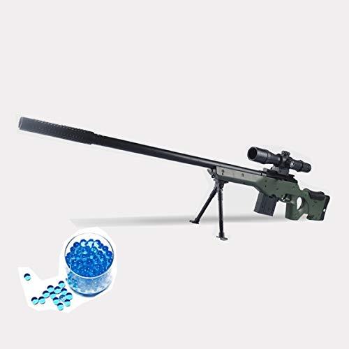 JINGYD Wasserbombe Spielzeugpistole, Militärkampf Elite Scharfschützengewehr, Kinder Outdoor CS Wasserbombe Spielzeug Scharfschützengewehr +10000 Wasserbombe