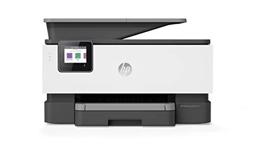 HP OfficeJet Pro 9010, Stampante Multifunzione a Getto di Inchiostro, Stampa, Scannerizza,...