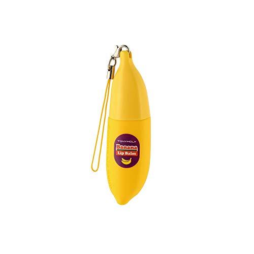 Tonymoly, crema per labbra profumata con estratto di banana.
