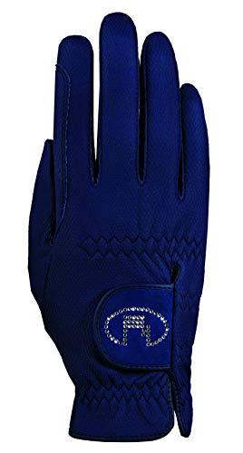Roeckl Sports Damen Handschuh Lisboa, Damenreithandschuh, Marine, 7