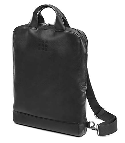 Moleskine Device Bag, Borsa Porta PC Verticale, Zaino Porta PC per Laptop,Notebook, iPad, Computer fino a 15.4'', Dimensioni 29 x 39 x 6 cm, Colore Nero